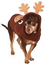 Reindeer Costumes For Dogs: Suits, & Antler Headbands