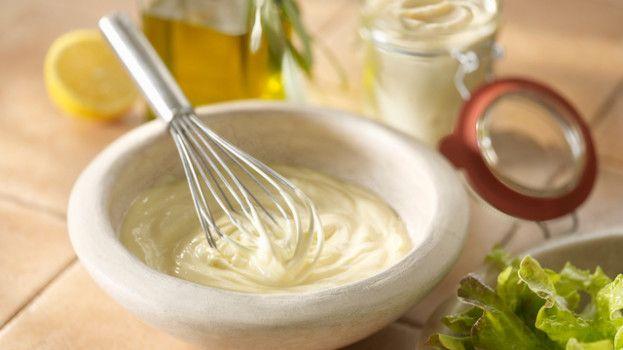 Ľahká domáca majonéza