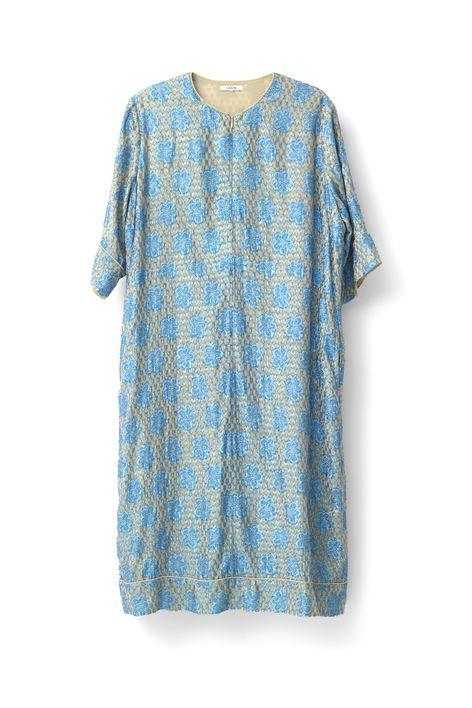 Emiko Jacquard Dress, Biscotti