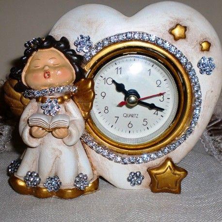 #Orologio #sveglia #Angelo #Jiobi #favolaincantata #madeinitaly http://www.jiobi.com/it/shop/complementi-darredo/orologio-sveglia-angelo/