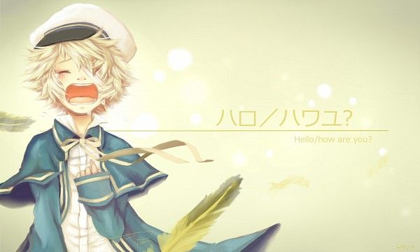 oliver vocaloid | Tags: Anime, Pixiv Id 2597415, Vocaloid, Oliver (Vocaloid), Feather