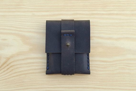 Leather Business Card Holder Leather Credit Card by Benittorre