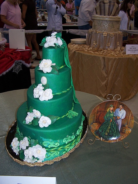 Tulsa Cake Show by Ally Cake Designs, via Flickr Couture ...