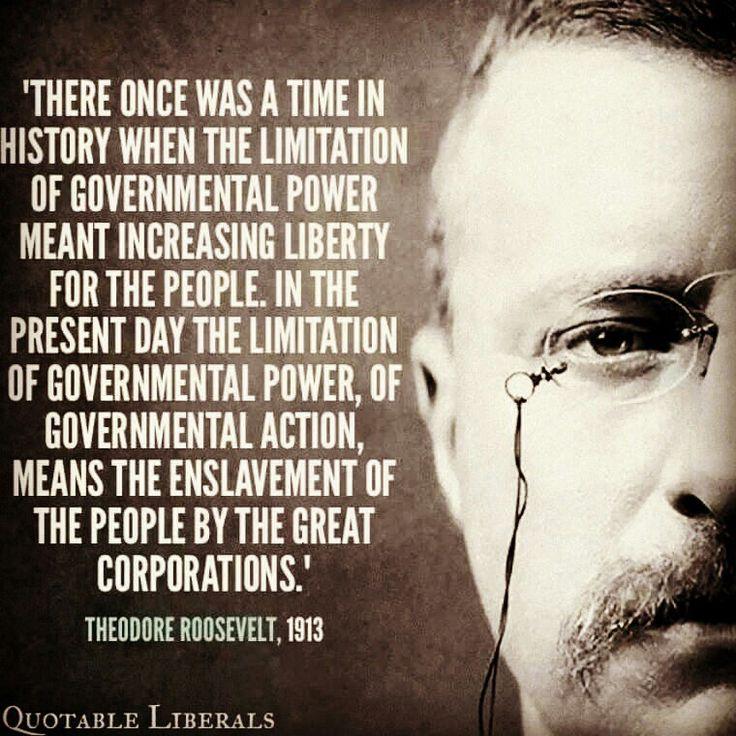 #roosevelt #liberals #politics #president #quotes #progressive #liberty #tombibiyan #government