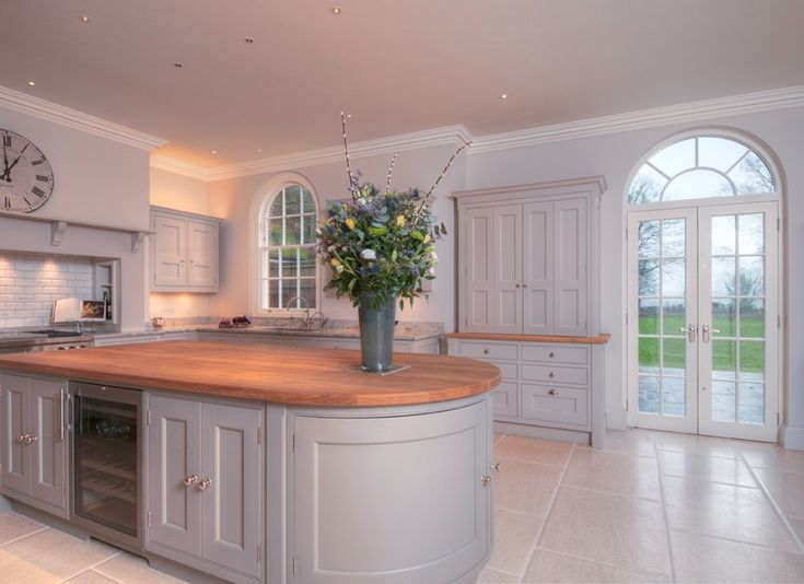 Pietra Claire Vintage Limestone flooring by Panoramics Kitchen by Lewis Alderson www.panoramics.co.uk