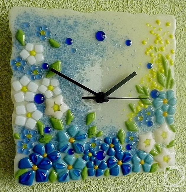 Image result for glass bluebonnet flower
