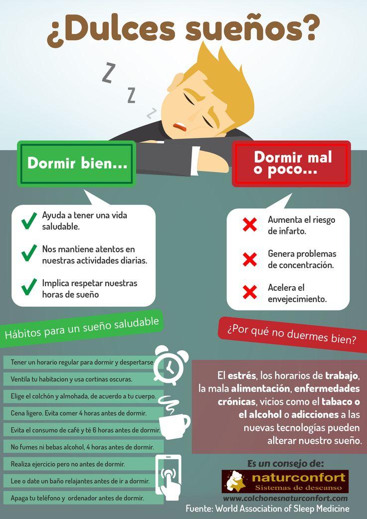 Mejores 16 im genes de consejos para un buen descanso en pinterest duerme consejos y vida - Diferencias entre colchones ...