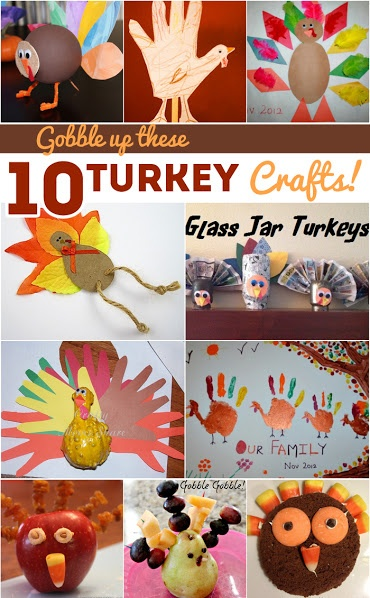 Gobble Up These 10 Turkeys Crafts!