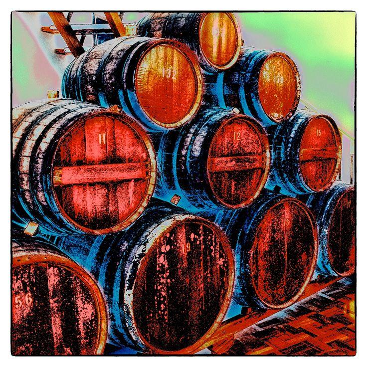 Barrels in the Barossa (Australia)