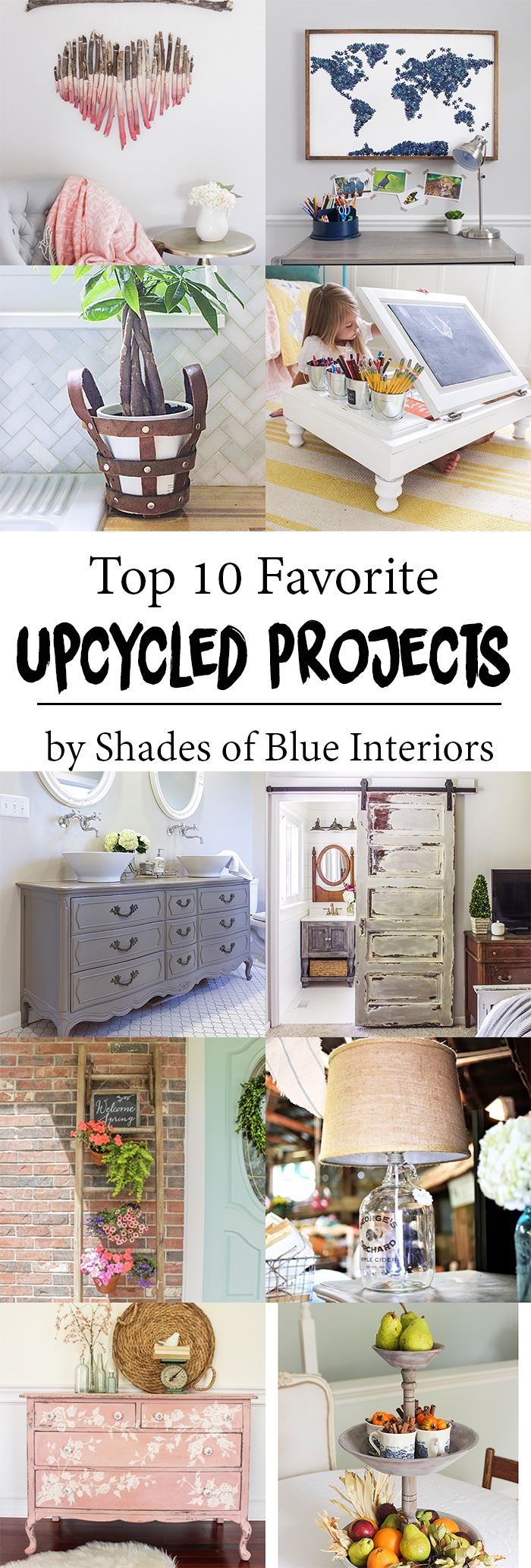 999 best images about repurpose it on pinterest old for Best upcycled projects
