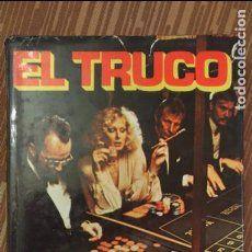 EL TRUCO, por Nino Malorni (novela sobre casinos y juegos de azar) ATE - España - 1976 - UN CLASICO!