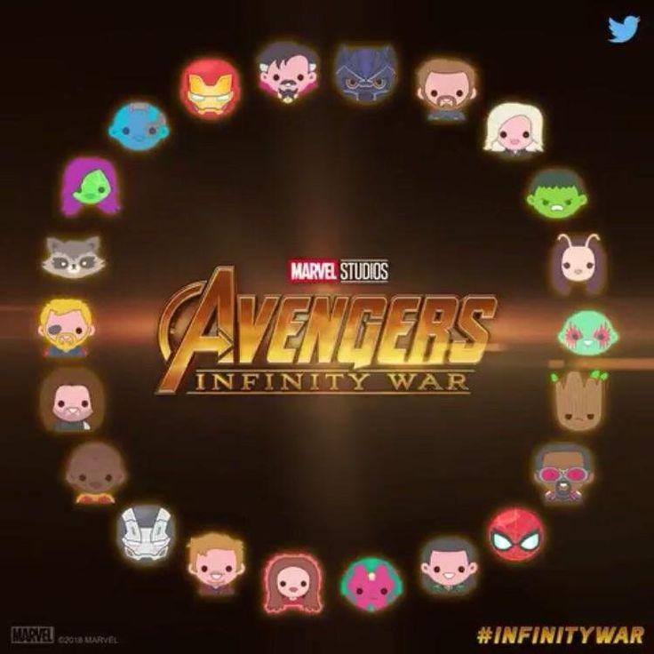 Complete Emoji Clock from Marvel Studios Twitter : marvelstudios