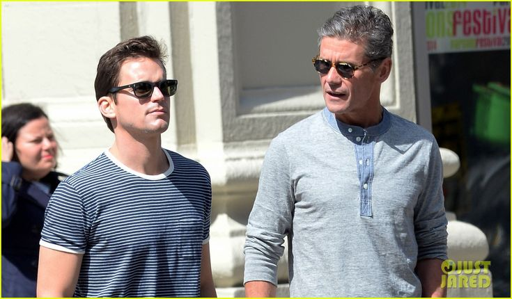 Matt Bomer & Husband Simon Halls Stroll New York City After 'GMA' Appearance
