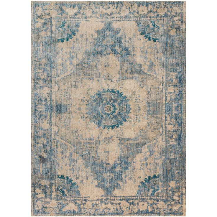 Magnolia home kivi rug by joanna gaines sand sky - Home design carpet rugs woodbridge on ...