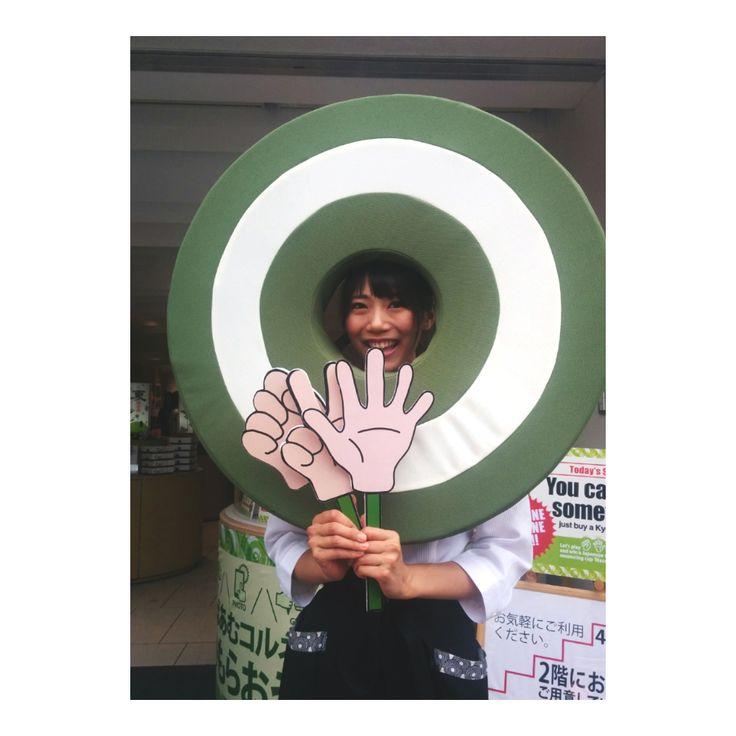 . ♪京ばあむ♪ kyobaum . . 『京ばあむコルネ』イベント . .  大盛況の清水店にて。。。 . .  fukudaやってみた! ♪♪♪人気者♪♪♪ .  2017.06.18 . .