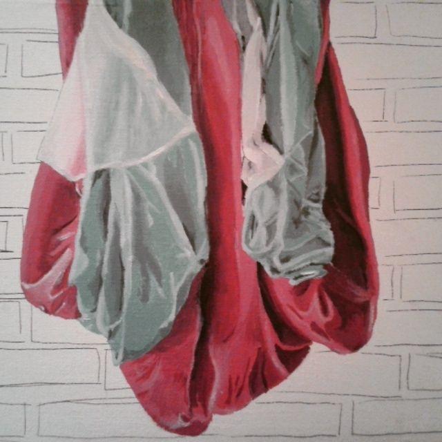 Tela  40x30 cm Técnica: Acrilico sobre mdf entelado. Principios de la pintura - Artes Visuales - UdeC Primer Semestre 2015