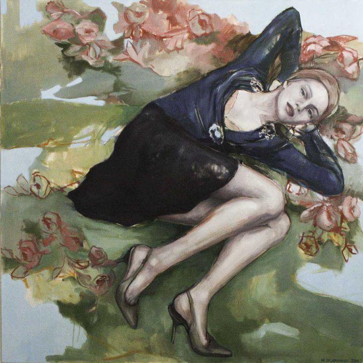 Beautiful oil painting by artist Mona Skjønhaug. Want it? Go to http://artbyhand.no/produkt/billedkunst/mona-skjonhaug