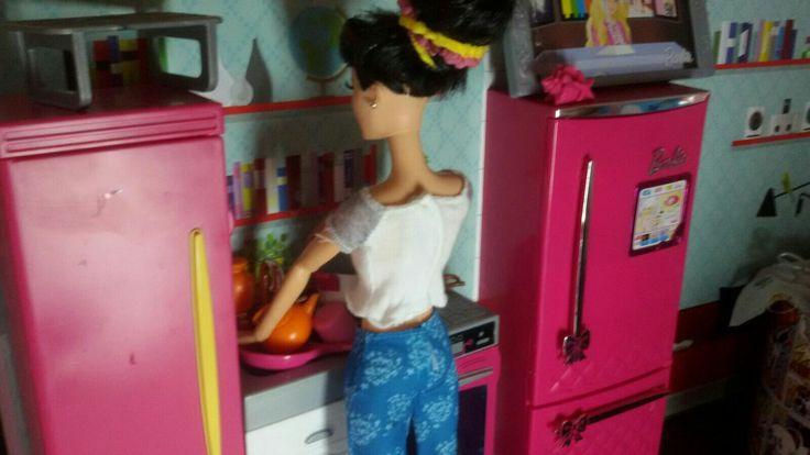 Visto che brava ? Sto cucinando per voi sorelline 😏😏😏