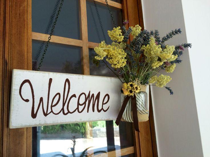 Lavanda e fiori di campo: Benvenuti a casa!!! DIY!!!