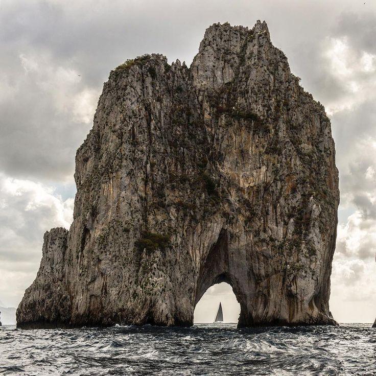 Out of this world. Faraglioni #Capri #Italy #travel