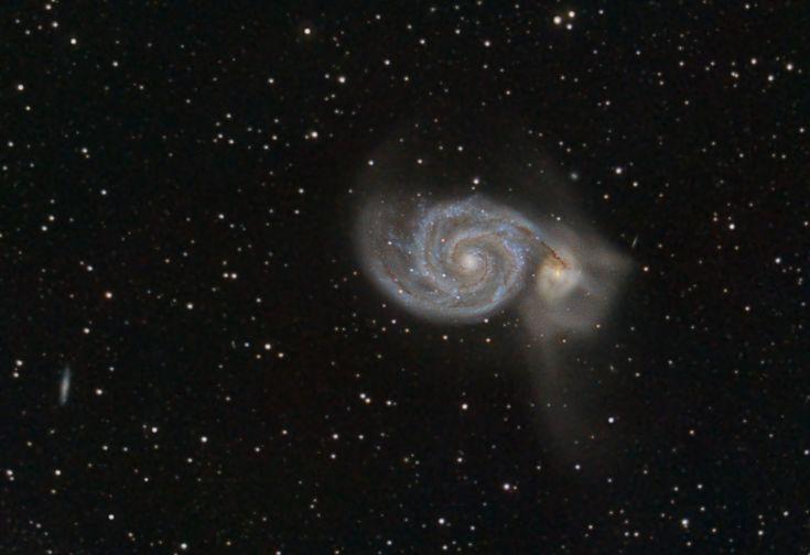 M51 - The Whirlpool Galaxy [3824x2622][OC] http://ift.tt/2zEsLYR