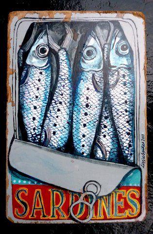 sardines in art - Google Search