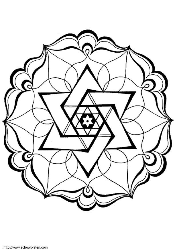 mandalas to print and color for adults | Pour imprimer le coloriage Mandalas ci-dessus, c'est très simple, il ...