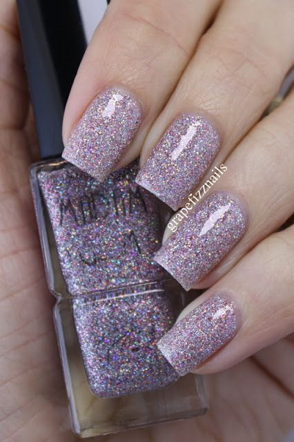 grape fizz nails: Madam Glam Polish Swatches and Review