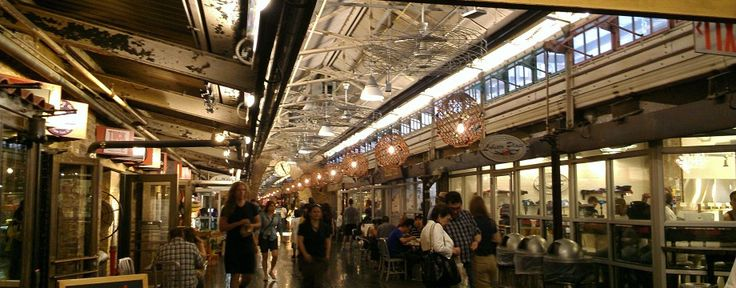 planning a vacation to NYC? here's something to add to your list! must-do things to do in NY: visit the Chelsea Market!