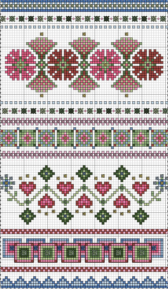 Always Springtime III CROSS STITCH chart