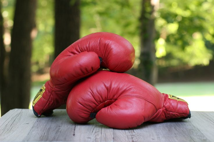 Vintage Classic Red Everest Boxing Gloves 16 Oz. / Everlast Boxing Gloves / Vintage Boxing Gloves / Father's Day Gift by theretrobeehive on Etsy