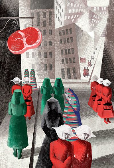 Margaret Atwood's The Handmaid's Tale – in pictures