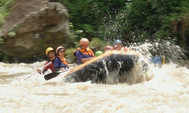Rafting at Sungai Elo