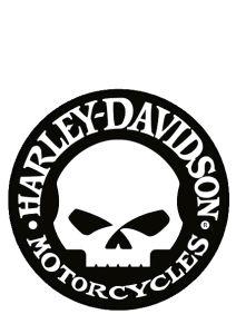 Harley Davidson Skull Logo (1)