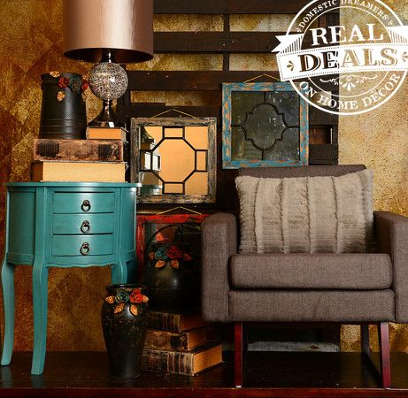 11 best real deals images on pinterest display ideas for Real deals on home decor