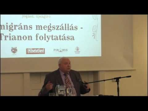 (6) Dr. Drábik János - A migráns megszállás - Trianon Folytatása - YouTube