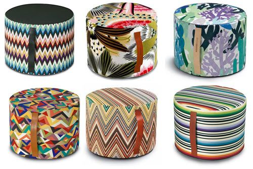 A Missoni Pouf. Once you start, you can't stop...