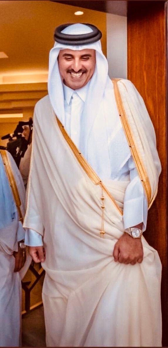 Qatar S Emir Sheikh Tamim Bin Hamad Al Thani الأمير تميم بن حمد ال ثاني قطر Nun Dress Fashion Saree
