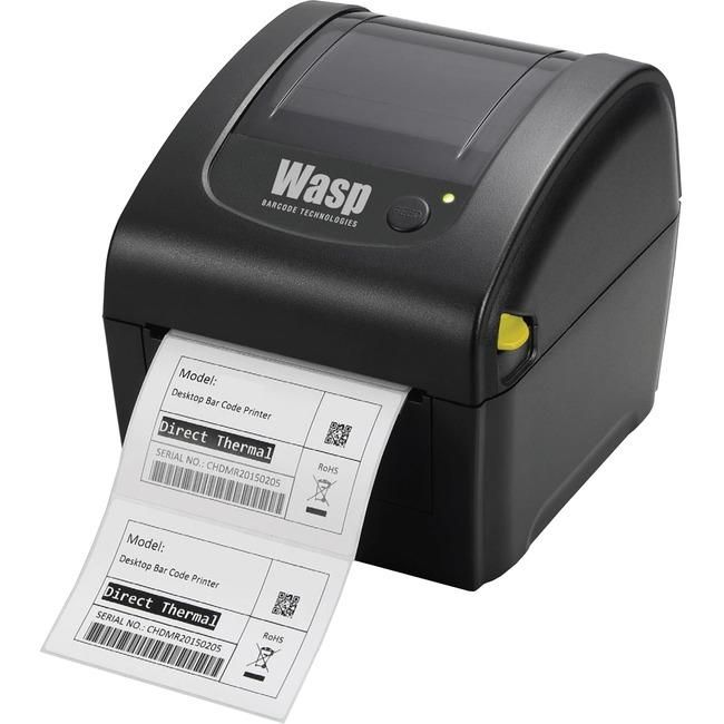 Wasp Wpl206 Direct Thermal Printer Monochrome Desktop Label Print Trivoshop Thermal Label Printer Label Printer Thermal Labels