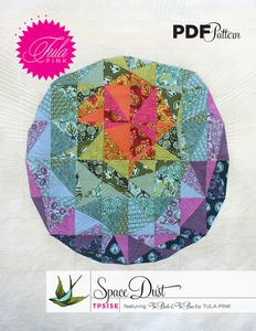 Space Dust Paper Pieced Pattern from Tula Pink