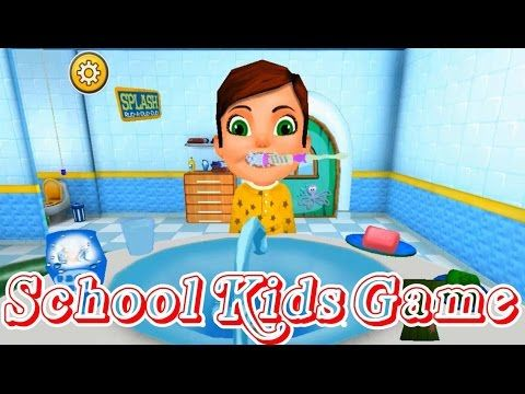 School Kids Game - baby play and learn numbers - games for children to p...