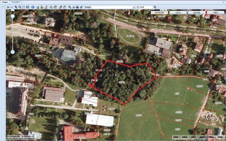 Działka ( zieleń parkowa) znajduje się w centrum Rabki-Zdroju w przedłużeniu ul.Parkowej, graniczy z Kościołem Św.Teresy od Dzieciątka Jezus, GOPR-em oraz Instytutem, posiada nr ewid. 4254/6 oraz księgę wieczystą NS2L/00032039/9.Kontakt: Piotr Michniewski tel.608-185-755Link do zdjęcia satelitarnego: .aspx?crs=EPSG:2180