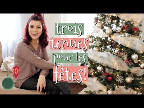 TRY-ON HAUL & LOOKBOOK DES FÊTES! - YouTube
