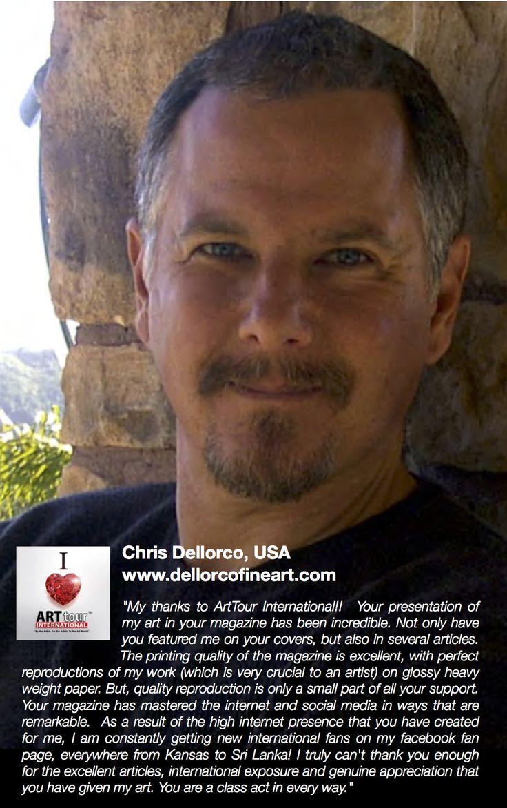 ATIM LOVE NOTE sent by master artist Chris Dellorco www.dellorcofineart.com   WWW.ARTTOURINTERNATIONAL.COM