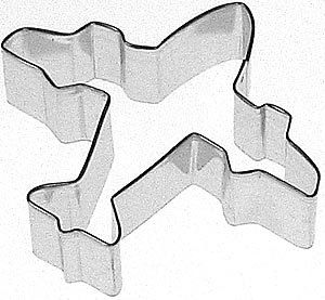Airplane Cookie Cutter JET plane Flight Flyiing by KitchenCrafts, $2.00
