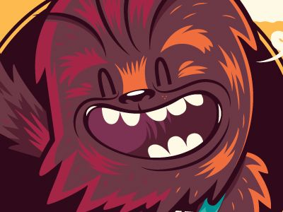 Dribbble let the wookie win salvatier