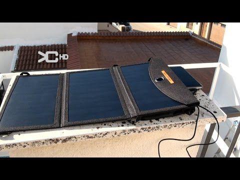 Cargador solar rápido para equipo de supervivencia - YouTube