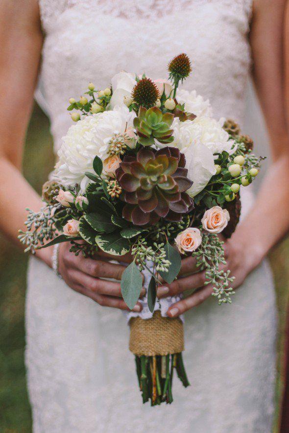 148 Best Succulent Bouquets Images On Pinterest Wedding