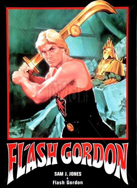 FLASH GORDON (1980) Character Posters