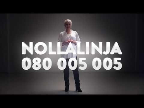 Nollalinja lähisuhdeväkivallalle ja naisiin kohdistuvalle väkivallalle - YouTube